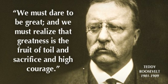 Teddy Roosevelt And Gerald Ford Quotes Healthcare IT Today Beauteous Teddy Roosevelt Quotes
