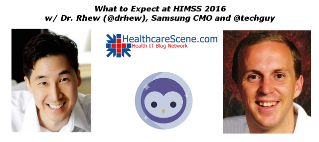 2016 February - What to Expect at HIMSS 2016 with Samsung CMO-blog