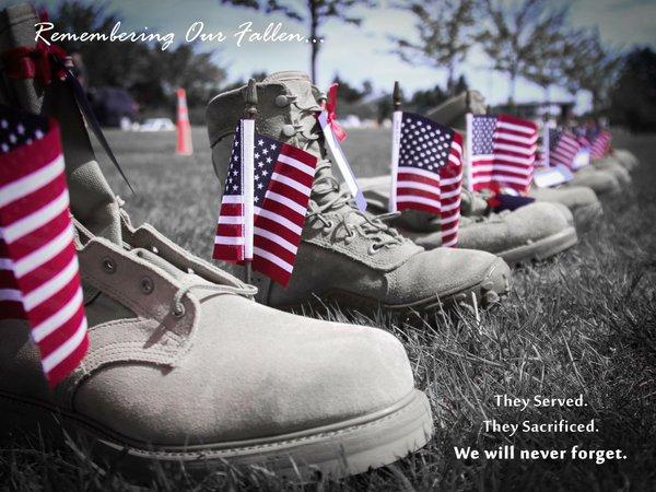 Memorial Day - Boot