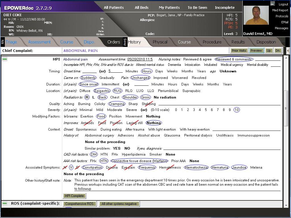 Emr Documentation Prose Generator Emr And Hipaa