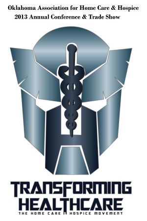 Transforming Healthcare - Transformers Conference Logo