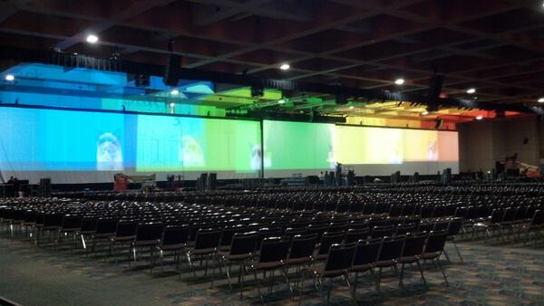 HIMSS 14 Keynote Area