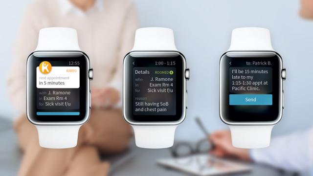 EHR Apple Watch - Kareo