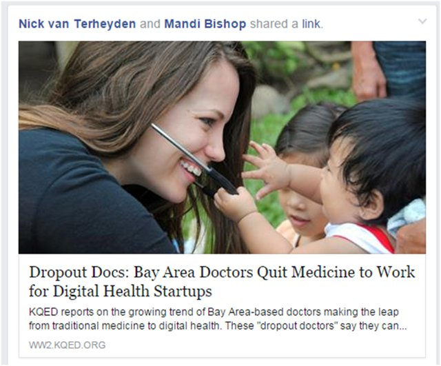 Dropout Doctors - Bay Area Doctors Leave Medicine for Healthcare Startups