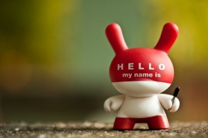 Hello My Name is 221-365 - Robert Occhialini
