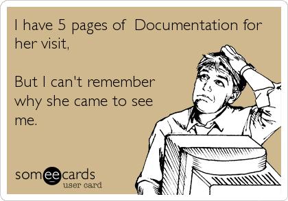 EHR Documentation Cartoon