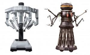 Da Vinci Xi Robot and Star Wars FX Medical Droid