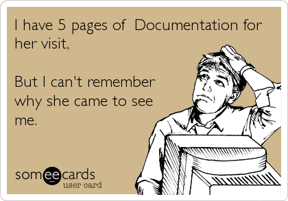 EHR Documentation Cartoon - Physician Dissatisfaction