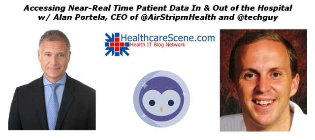 Accessing Near-Real Time Patient Data In and Out of the Hospital