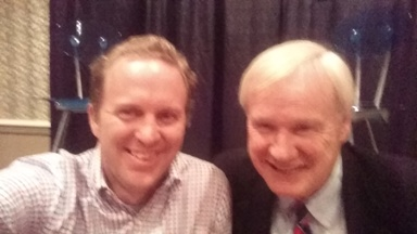Chris Matthews and John Lynn at NatCon