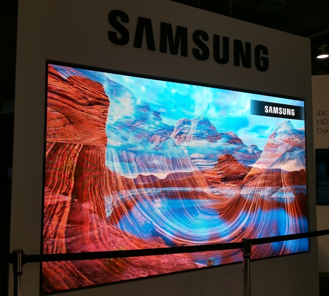 Samsung Displays - NAB