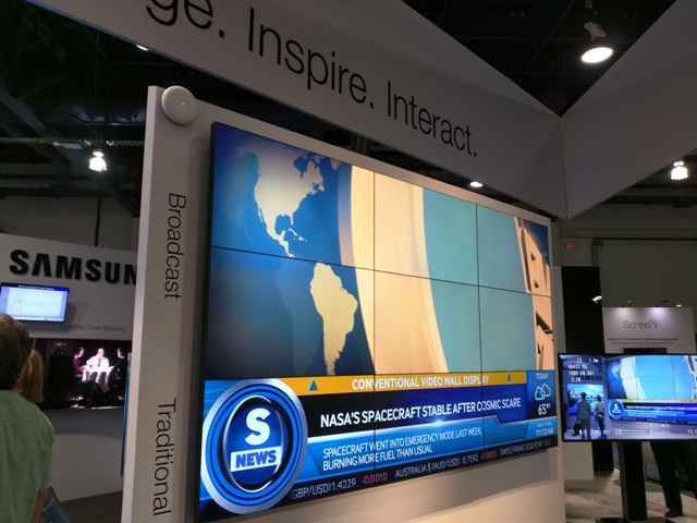 Samsung Healthcare Displays - NAB