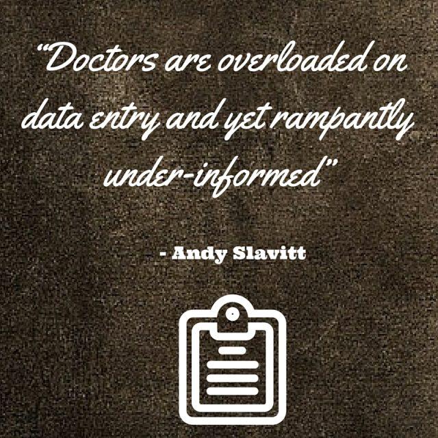 Andy Slavitt - Physician Data Paradox