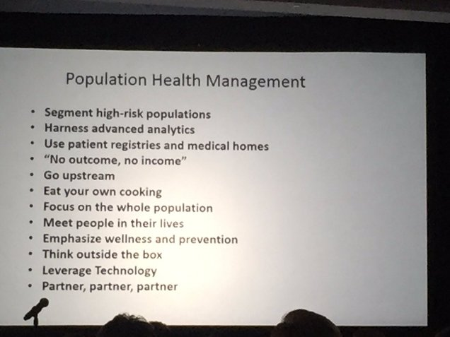 Population Health Management Lessons Learned