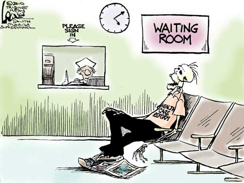 Healthcare Waiting Room Cartoon Fun Friday Emr And Ehr