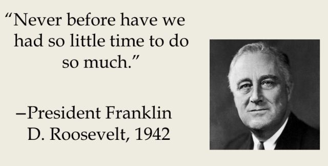 So Much To Do With So Little Time – President's Day