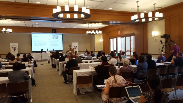 Audience at Patient-Centered conference at Harvard
