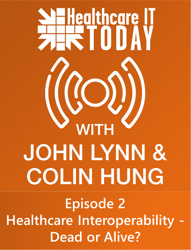 Is Healthcare Interoperability Dead or Alive? – Healthcare IT Today Podcast Episode 2