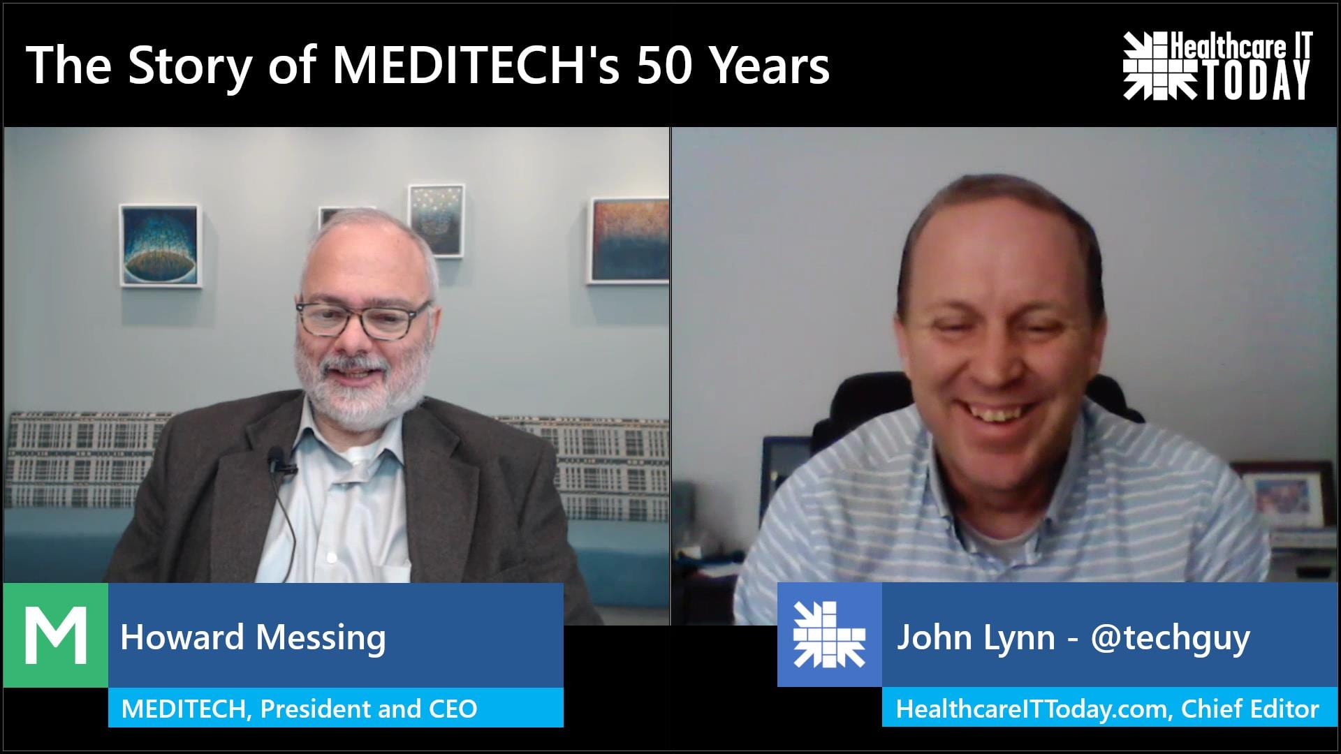 50 Years of MEDITECH with CEO Howard Messing