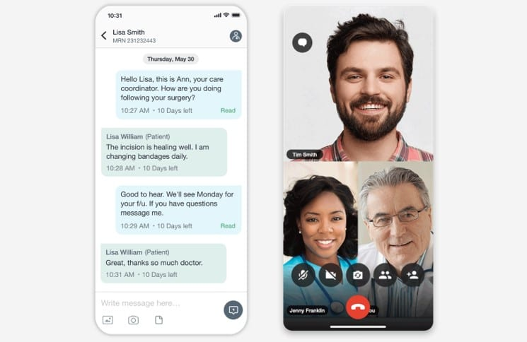 Texting + Telehealth Together in a Single Platform from TigerConnect
