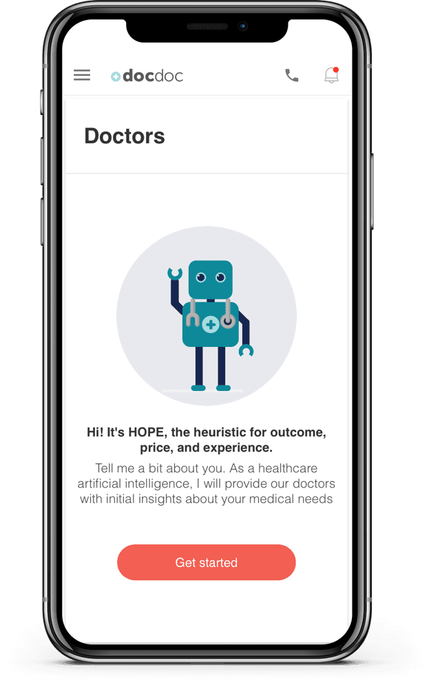 DocDoc Helps Patients Discover Providers