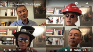 It's a Telehealth World by CT Lin – Fun Friday